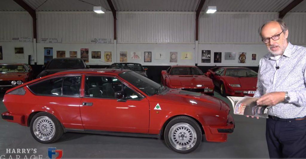 gtv 1024x534 Harry´s Garage   Alfa Romeo GTV6 2.5 é um ícone da marca italiana