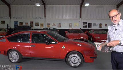 gtv 430x244 Harry´s Garage   Alfa Romeo GTV6 2.5 é um ícone da marca italiana