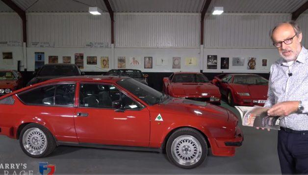 gtv 628x356 Harry´s Garage   Alfa Romeo GTV6 2.5 é um ícone da marca italiana