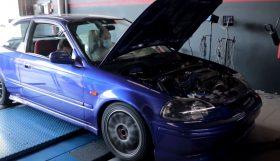 honda turbo 280x161 Sobre Rodas PT   Outro projecto nacional com um Honda Civic Turbinado