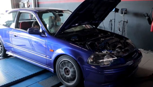 honda turbo 628x356 Sobre Rodas PT   Outro projecto nacional com um Honda Civic Turbinado