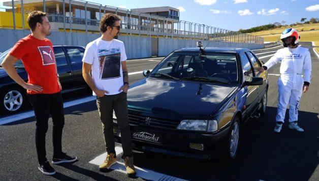405t16 628x356 Acelerados   Rubens Barrichello ao volante do seu ex Peugeot 405 T16
