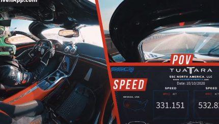 tuatara 430x244 SSC Tuatara esmaga recorde de velocidade máxima   532 km/h